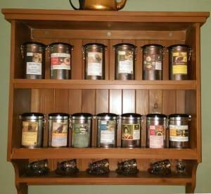 Our Tea Rack