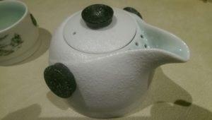 The pot...